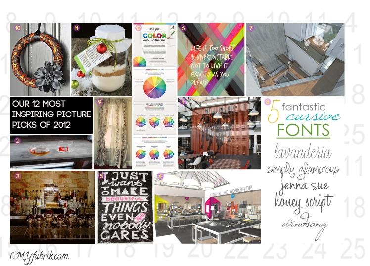 2012 Inspiration Roundup