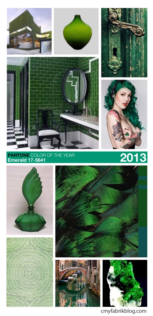 Pantone Emerald board by CMYfabriK