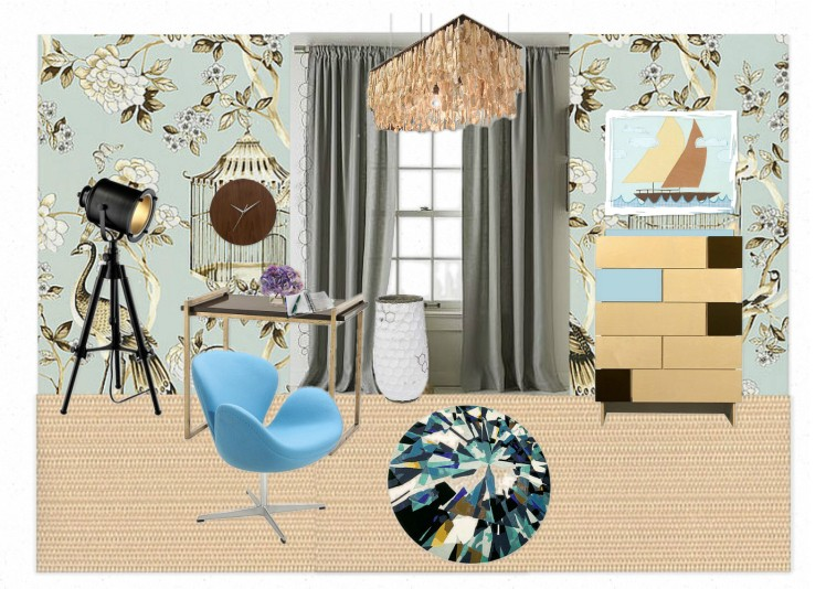 For my Institutional Design project- Dorm room (third floor)