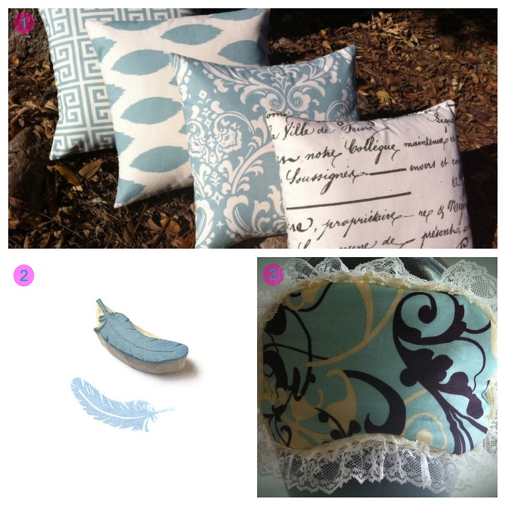 "Dusk Blue PANTONE 16-4120 products:  One Light Blue Decorative Zipper Pillow Cover 18x18"" via Pillomatic on Etsy 