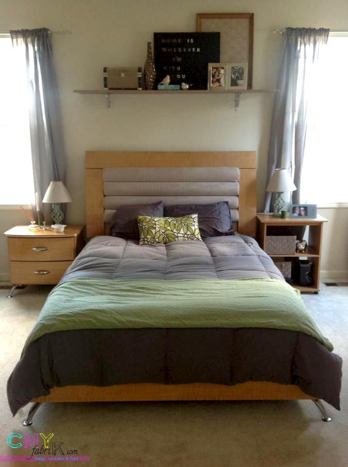 Bedroom before spring update