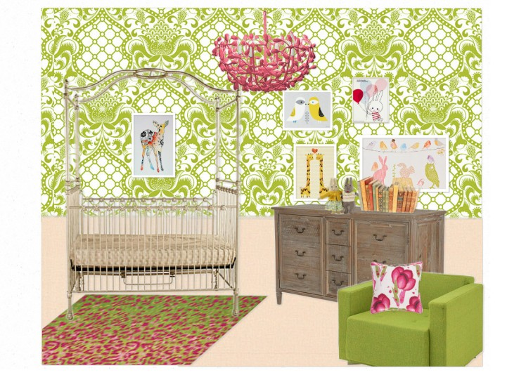 OB-Girly nursery