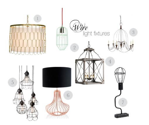 Trend: Wire lighting