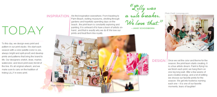 Lilly Pulitzer- Our Story