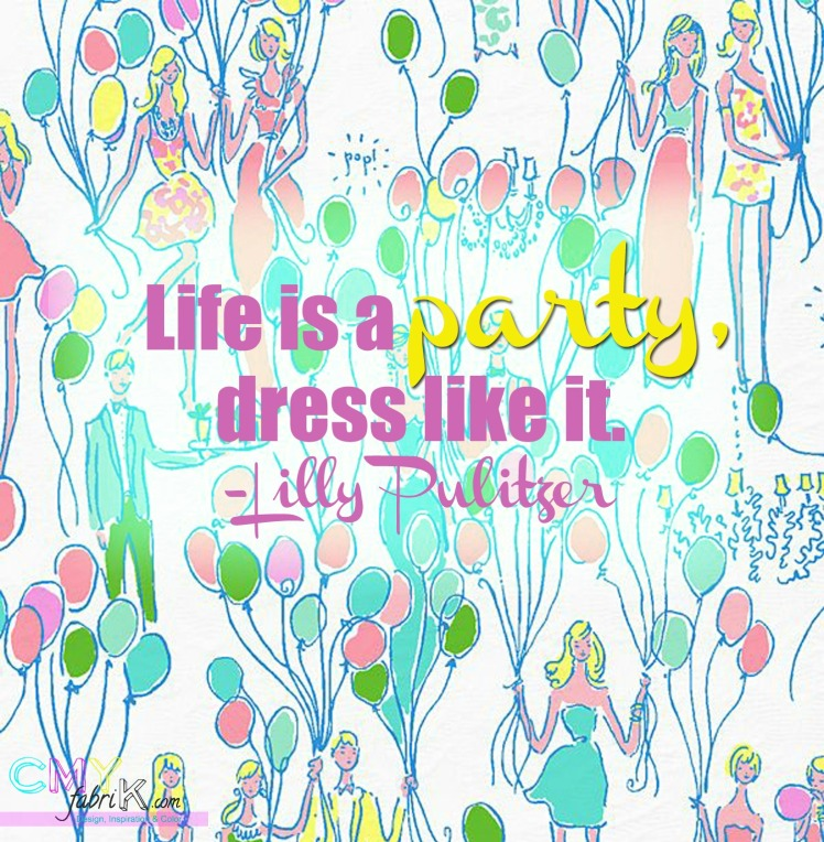 Party- Lilly Pulitzer