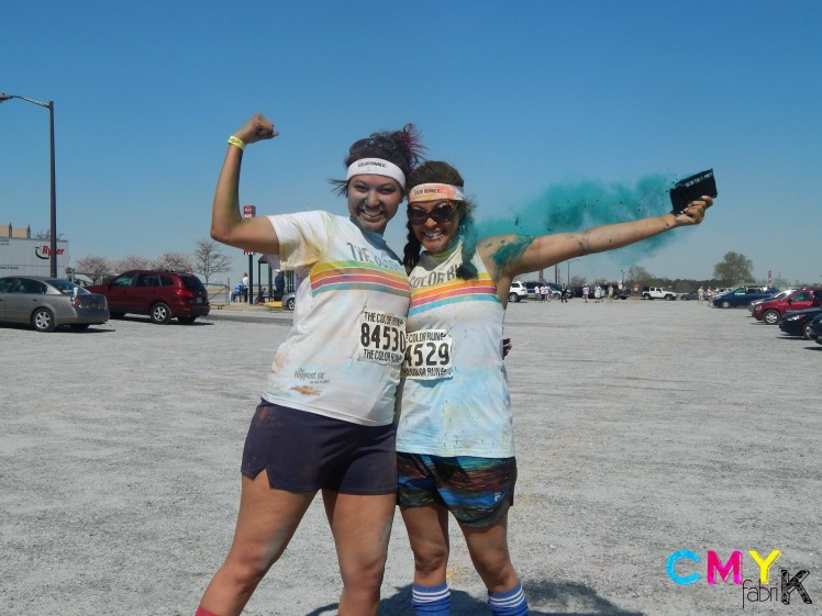 @CMYfabriK at the Color Run