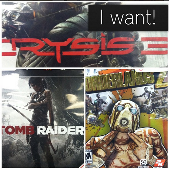 Video games I can't wait to play!
