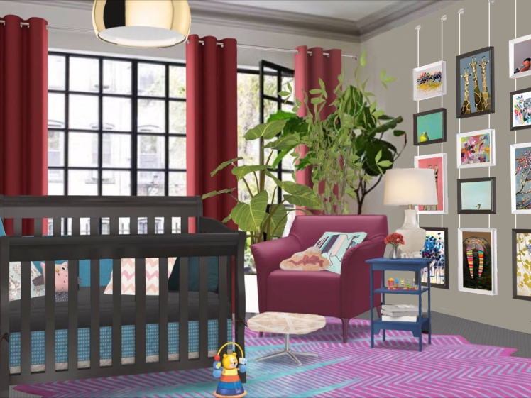 girls nursery design