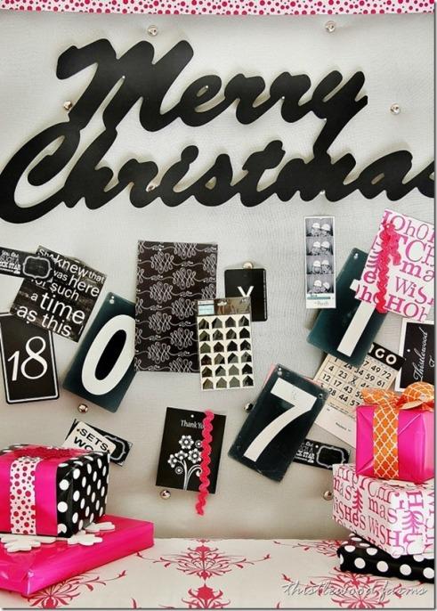 Christmas board via Thistlewoodfarms.com