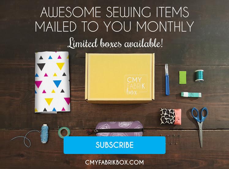 CMYfabriK Box- monthly craft subscription box