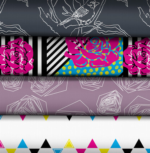 CMYfabriK's newest fabric designs